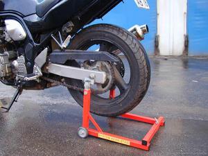 Центральная подножка для мотоцикла своими руками