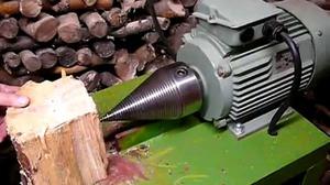 Самодельный станок для колки дров