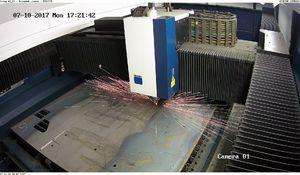 Лазерная установка для резки металлических изделий