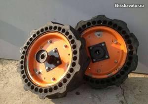 Как сделать колеса на мотоблок фото 166