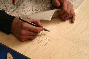 Перенести детали с бумаги на фанеру - просто!