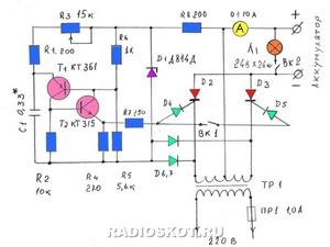 Диоды на зарядное устройство 12 вольт своими руками