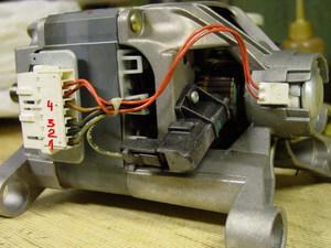 Как подсоединить двигатель от стиральной 3 вывода