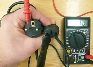 Как прозвонить силовой кабель