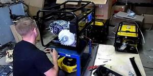 Отремонтировать бензиновый генератор кайзер 200 сварочный аппарат