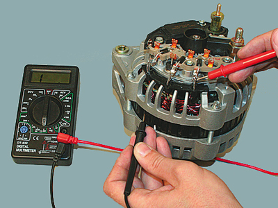 Как проверить зарядку генератора