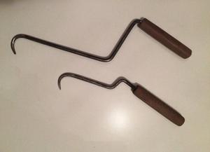 Сделанный своими руками крючок можно использовать для небольших объемов работ