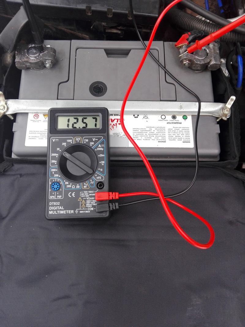 Как проверить заряд аккумулятора