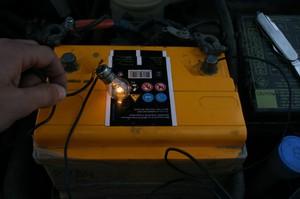 Тестер ёмкости аккумуляторов