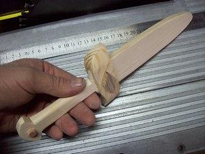 Как сделать деревянный кинжал