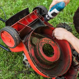 Как сделать газонокосилку