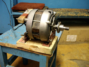 Как используется двигатель от стиральной машинки